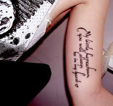 Tattoo Quotes About Love Classy 48 Inspirational Quotes Tattoo Designs