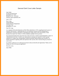 Basic Cover Letter For Any Job Memo Example