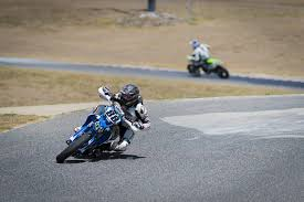 jesse wacker during the super motard race at the mini buy