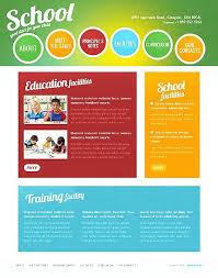 download template for website in php template school children website with homepage image