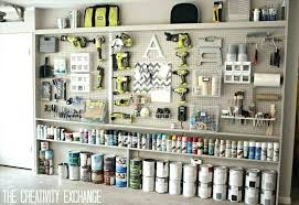 tool organizer wall garage storage ideas power and mounted garden