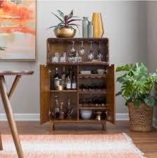 mid century modern bar cabinet. Image Is Loading MiniBarLiquorCabinetMidCenturyModernWine Intended Mid Century Modern Bar Cabinet