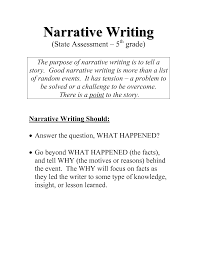 Example Narrative Essays Collection Of Solutions Narrative Essay Example Pdf For Abi Cover