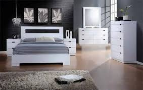 Vista 40 Pc Vista Glossy White Finish Wood Modern Style Headboard Cool Glossy White Bedroom Furniture
