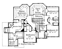mansion floor plans with secret passages
