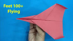 Paper Airplane Designs That Fly Far How To Make Paper Airplane That Fly Very Long Paper Plane