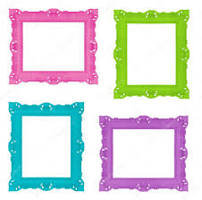 Colorful Frames Stock Photo C Ninamalyna 7414331