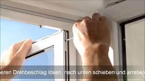 Insektenschutz Neher Pendeltuer Aushaengen So Gehts Youtube