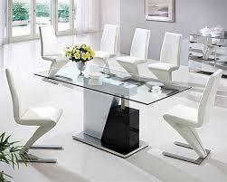 modern glass dining room tables. Brilliant Dining Room Sets Glass Top With Modern Tables Of Good Designer H