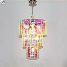 colorful chandelier lighting. Chandelier, Marvellous Colorful Chandelier Colored Chandeliers Modern Creative Fashion Multicolored Glass Incandescent Lamp: Interesting Lighting L