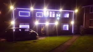 House Light Show Thriller Glee Micheal Jackon Thriller Off With You Head Halloween Light Show 2016 Coventry