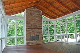 screened in porch fireplace most interesting screen porch fireplace screened in decks screened porch with decking screened in porch fireplace