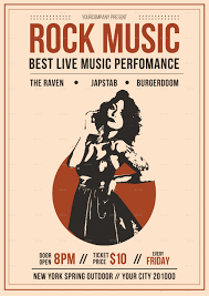 Music Flyer Rock Music Flyer by tokosatsu GraphicRiver 1