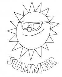 Small Picture Summer Words Coloring Pages Coloring Pages