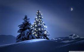Night Christmas Wallpapers - Wallpaper Cave