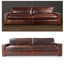 Leather Couch Restoration Restoration Hardware Maxwell Sofa Leather Best Home Furniture