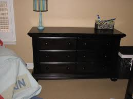 black painting furniture with chalk paint