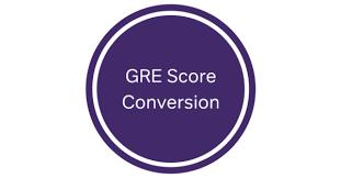 Gre Score Conversion