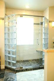 glass block shower enclosures shower glass block shower wall home shower enclosures home depot kohler frameless