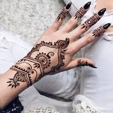 černá Přírodní Squishy Bylinné Henna Cone Dočasné Tetování Body Art Tetování