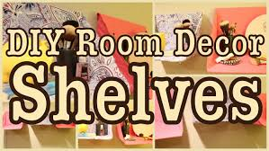 Room Decor Diy Diy Room Decor Shelves Great For Any Room Youtube