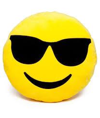 Coloriage Emoji Cool Imprimer