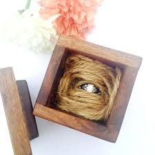 engagement ring box wooden plans