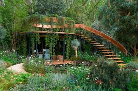 garden shows. A Spiral Of Copper Forms The Centre Nick Bailey\u0027s 2016 Entry, Winton Capital Garden Shows L