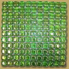 Coolest Lime Green Glass Tile Backsplash | Small Kitchen Ideas