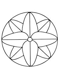 Mandalas A Imprimer Gratuit 19 Mandalas Faciles Pour Enfants