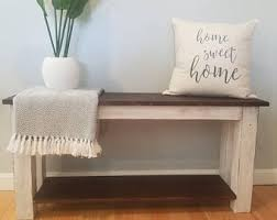 unique entryway furniture. Farmhouse Bench | Entryway Bedroom Dining (Local Delivery Or Pick Unique Furniture L