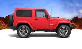 2018 jeep exterior colors. modren colors 2018 jeep wrangler side view red color alloy wheels for jeep exterior colors