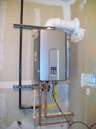tankless water heater plumbing. Delighful Water Rinnai Tankless Water Heater Advantages The Installation With White Plumbing  In Small Space In Tankless Water Heater Plumbing S