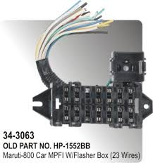 fuse box maruti 800 car mpfi with flasher box (23 wires) (hp 34 Santro Xing Electrical Wiring Diagram fuse box maruti 800 car mpfi with flasher box (23 wires) (hp 34 3063) santro xing wiring diagram