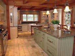 red country kitchens. Beautiful Country Kitchen Red Country Kitchen Decor Vintage Light High Cabinets Persian Rug  Gray Painted Cabinet Wooden Throughout Kitchens