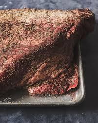 smoked brisket recipe texas style