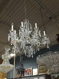 vintage crystal chandelier vintage crystal chandelier 9 light as found vintage crystal chandelier table lamp