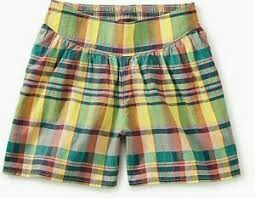 Tea Collection Size Chart Details About Tea Collection Madras Culottes Rain Forest Nwt Girls 10