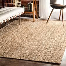nuloom 200tajt03 9012 alexa eco natural fiber braided reversible jute rug 9 feet