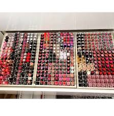 look at all the lipstick
