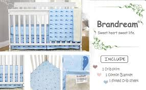 brandream baby boys crib bedding sets