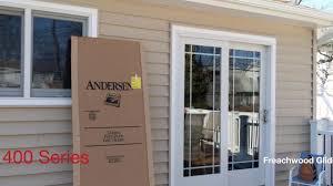installing andersen screen door on 400 series frenchwood gliding patio door