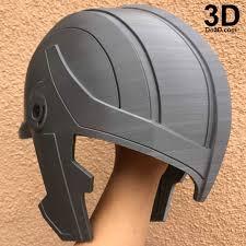 thor ragnarok 3d printable model helmet print file