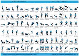 Gym Exercise Planner Kettlebell Exercise Chart Pdf Bedowntowndaytona Com