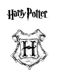 Kleurplaat Harry Potter