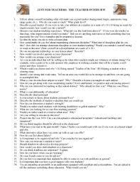 editable interview essay examples fill print law  interview essay examples just for teachers the teacher interview