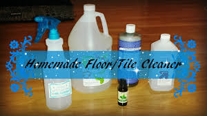 DIY Natural Floor Tile Spray Cleaner Recipe   YouTube