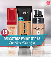 Nyx Foundation Color Chart 15 Best Drugstore Foundations For Every Skin Type