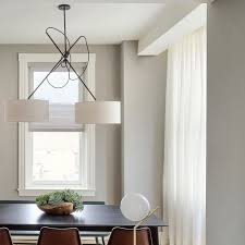 custom double shaded pendant looking sharp at roost rittenhouse via workstead gorgeous lighting