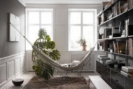 a hammock as ornament